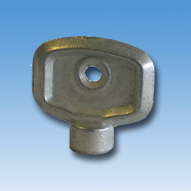 DE-001 nøgle til luftskrue. Blank metal. 5 mm