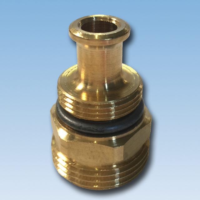 079 ventilsæde til kvikshunt, fremløb, fordelerrør