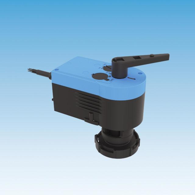 M63 24V, proportional kontrol 0-10V, 6-vejs ventil, automatisk omskiftning køling varme