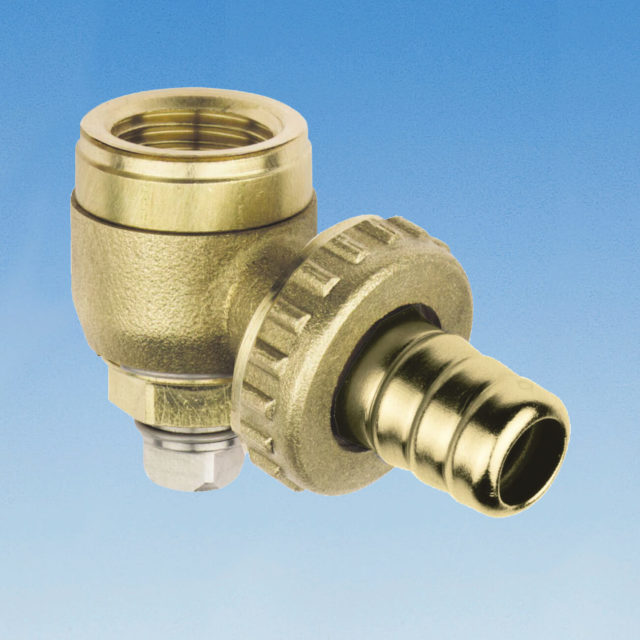 99SP radiatordrænventil til returkobling serie 650DIN, 651DIN, H-ventiler