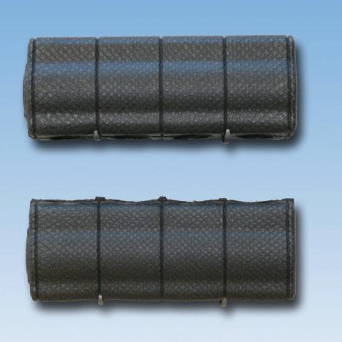 IS7035 Isoleringssæt til 3/4″ og 1″ gulvvarmemanifold, til frem- og returløbsrør. Incl. clips for lukning