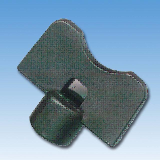 DE-002 Nøgle til luftskrue. Sort plast. 5 mm