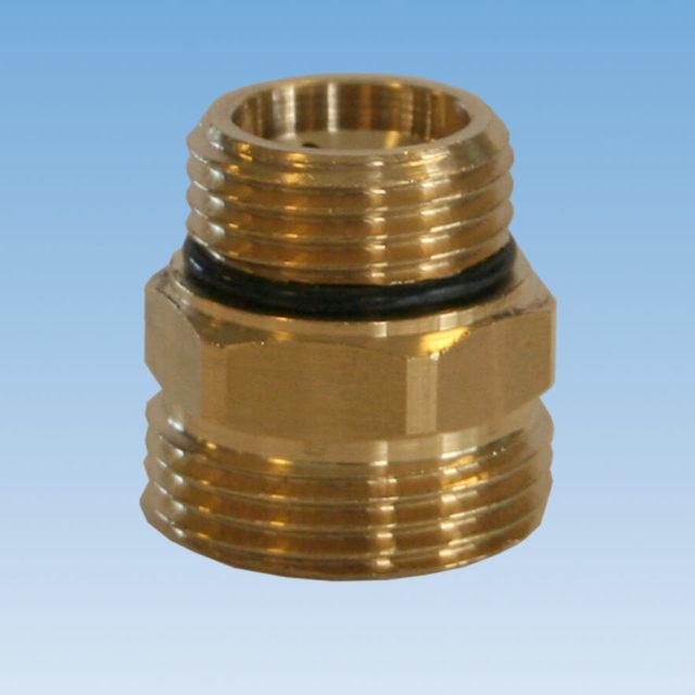 035/1 nippelkobling til kobber og polyethylen rør, fordelerrør 7000PM