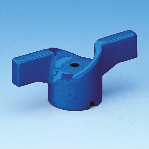 052B T-greb, blåt, til alle kuglehaner serie 50