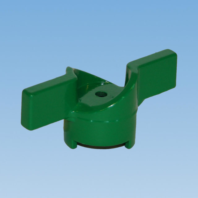 052V T-greb, grønt, til alle kuglehaner serie 50