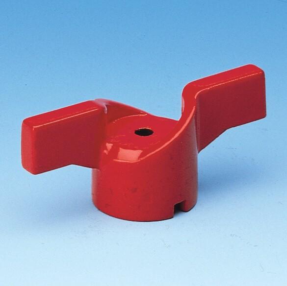 052 T-greb rødt til kuglehaner serie 50