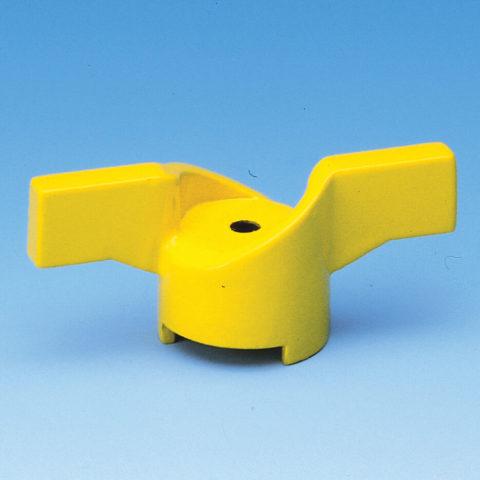 G052 gult t-greb til gaskuglehane serie G52