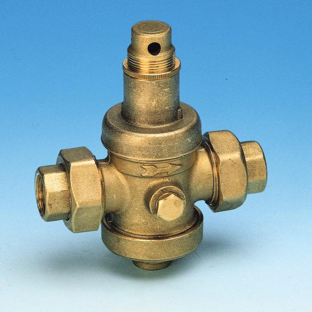 502 trykreduktionsventil, varmt vand maksimal 90 grader