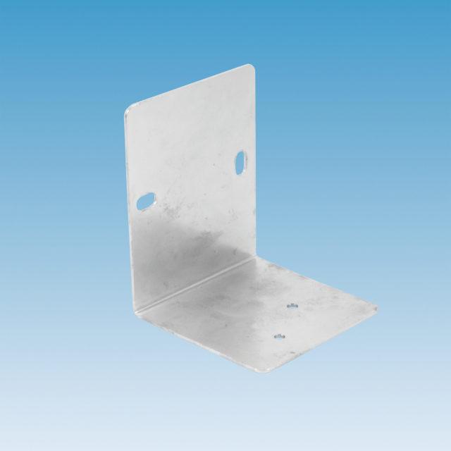063ZA vinkelbeslag til 6-vejs ventil, med to huller for fastgørelse