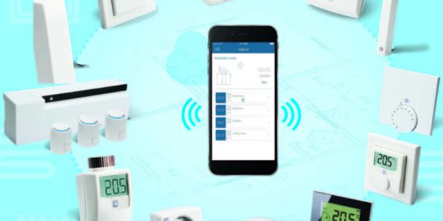Comfort ip, smart home, gulvvarmesystem, intelligent, trådløs, 230V
