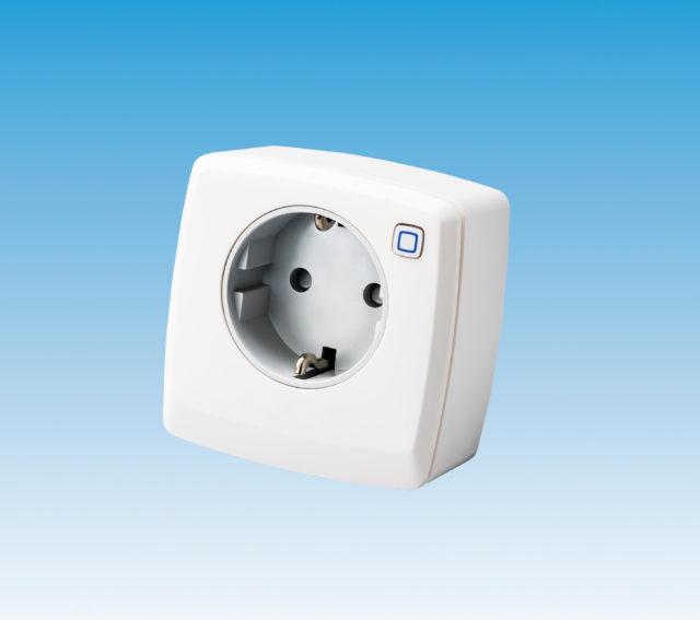 EC-40002 repeater, stikkontakt, antenne, til comfort ip gulvvarmesystem, 230V, trådløs