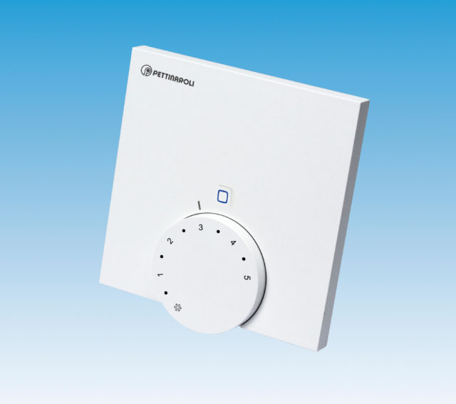 EC-42090 analog rumtermostat til comfort ip gulvvarmesystem, 230V, trådløs