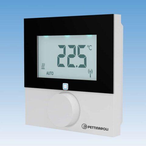 EC-42090D digital rumtermostat til comfort ip gulvvarmesystem, 230V, trådløs