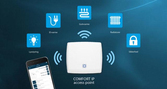 COMFORT IP: SmartHome-app