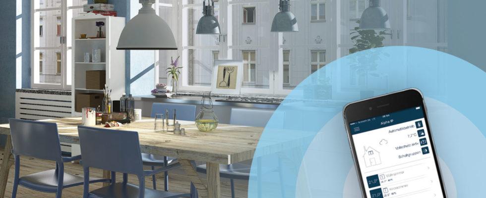 Det intelligente hjem med COMFORT IP SmartHome