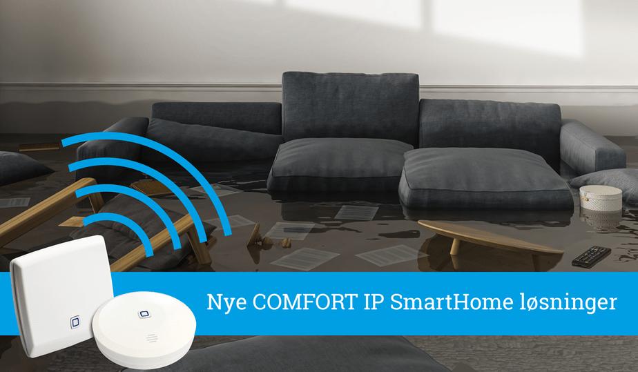 Nye COMFORT IP SmartHome løsninger