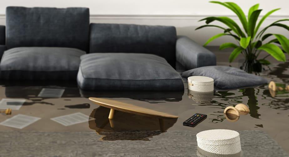 EC-40036 oversvømmelsesalarm, vand i kælderen, til comfort ip gulvvarmesystem, 230V, trådløs