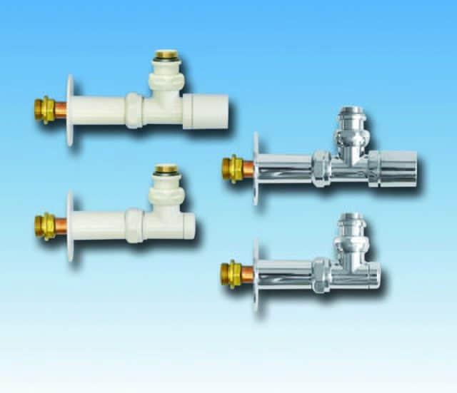 """KK850, KK850B, vinkelløbende radiatorventil, termostat eller aktuator, regulerbar returkobling 1/2"""""""
