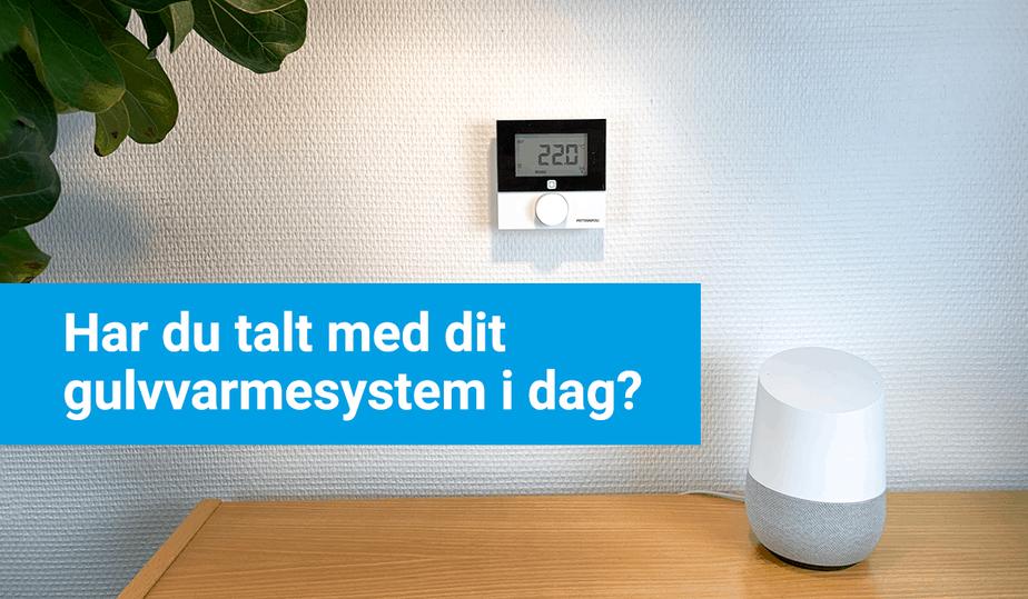 Google Home, comfort ip, smart home løsning, stemmestyring, intelligent
