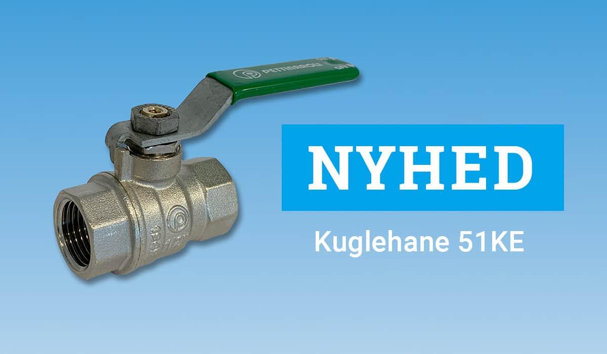 NYHED Kuglehane type 51KE