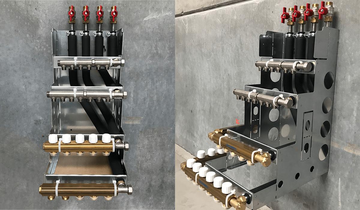 Nyt smart bundmodul til installation af gulvvarme, radiatorer og brugsvand