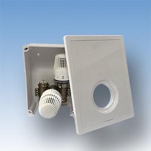 JV-001 multiboks, gulvvarmeregulering af en kreds, små rum, gulvvarme