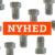 NYHED: TEA B overflade på vandmålerforskruninger