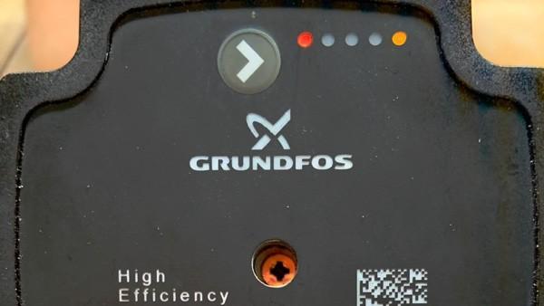 Fejlkode på gulvvarme pumpe