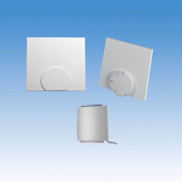 A220102-01KA trådløst gulvvarmesystem COMFORT, trådløs, 230V, pakkeløsning, telestat, analog rumtermostat